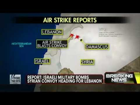 Israel : Israeli Airstrike on Syrian Convoy inside Syria heading for Hezbollah (Jan 30, 2013)