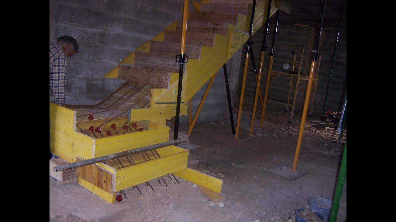 Escalera de hormig n construir una casa paso a paso sin for Construir escalera de hormigon