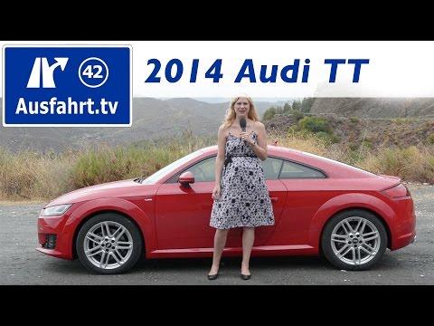 2014 Audi TT 2.0 TFSI sline - Fahrbericht der Probefahrt / Test / Review (German)