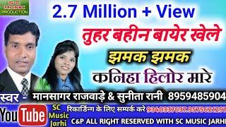 Mansagr rajwade & sunita rani- bayer song tuhar bahin bayer khele kaniha hilormare thumbnail