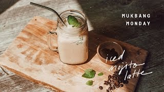 Mukbang Monday on a Thursday | Iced Mint Mojito