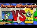 Version Differences - Super Mario World (Recut)
