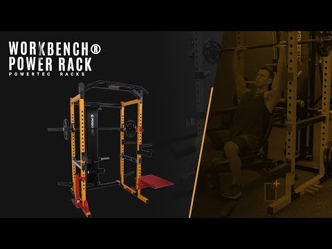 Powertec Power Rack | All Exercises - Including Accessories