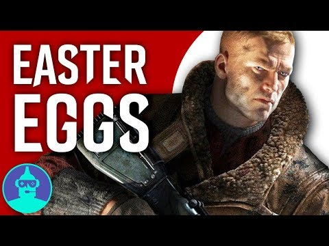Wolfenstein 2: The New Colossus Easter Eggs YOU Missed - Easter Eggs #8 | The Leaderboard |