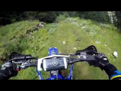 Gnarly Hard Enduro Creek Section YZ250X