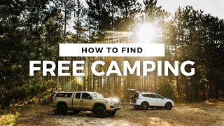 How to find FŔEE CAMPING In National Forests & Public Land in Michigan | Dispersed Car Camping