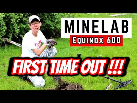 Learning the Minelab Equinox 600 (Metal Detecting Canada)