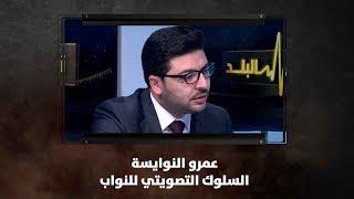 عمرو النوايسة - السلوك التصويتي للنواب