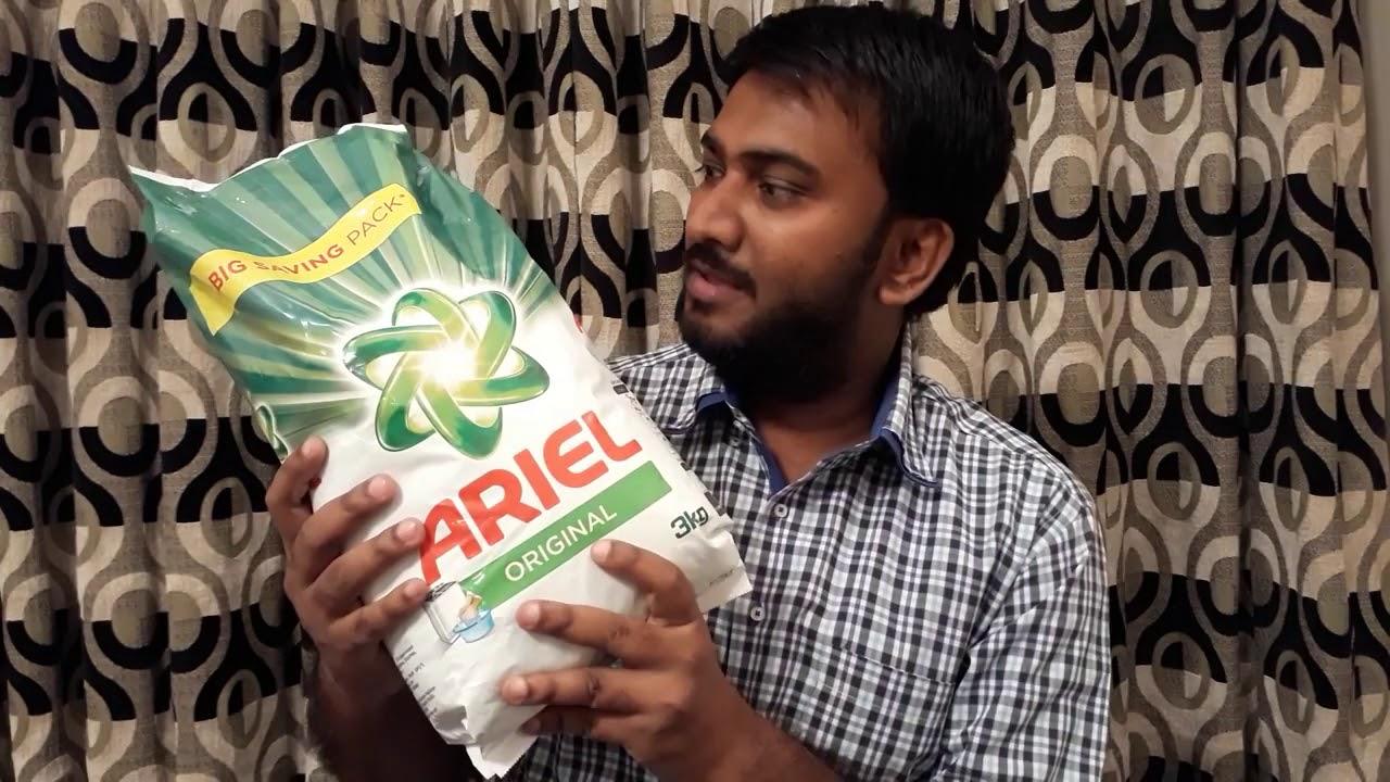 Ariel & Sunlight Washing Powder Review | Vlog 11