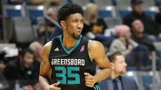 Christian Wood Erupts for 45 Points, 15 Rebounds, 8 Blocks for Greensboro Swarm!