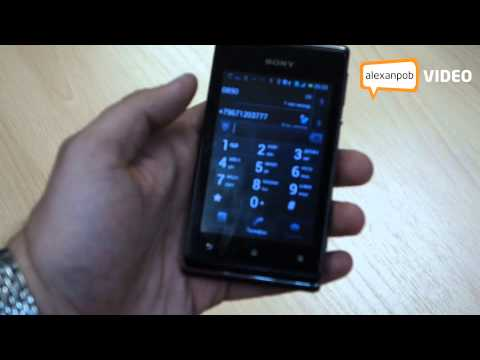 Обзор Sony Xperia E Dual