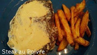 How to make Steak au Poivre (French Pepper Steak)