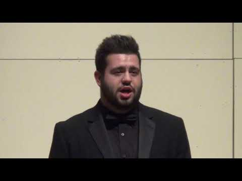 "Jacob's WCU recital Nov 2017 - ""The Tinker Song"""