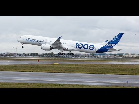 Rolls-Royce | First flight of the Trent XWB-97 powered Airbus A350-1000