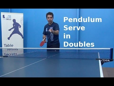 Pendulum serve in doubles table tennis pingskills - Serving in table tennis rules ...