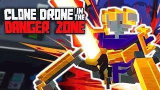 ИСПЫТАНИЕ БОЛЬЮ! - CLONE DRONE IN THE DANGER ZONE ПРОХОЖДЕНИЕ