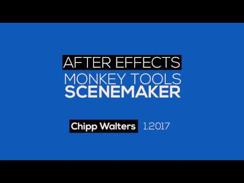 After Effects Scene Maker Tutorial