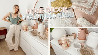 summer home decor and clothing haul!