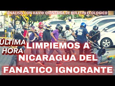 🔴LIMPIEMOS A NICARAGUA DEL FANATICO IGNORANTE