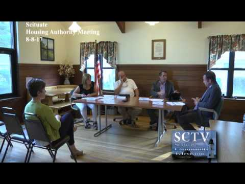 Scituate Housing Authority 8-8-17