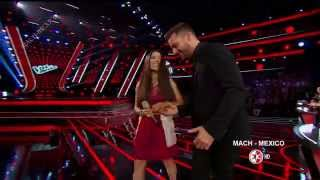 Ricky Martin en La Voz Mexico 4  Programa 4