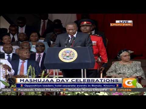 President Kenyatta's Speech During Mashujaa Day 2017