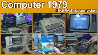 Home-Computer 1979 - Atari 800 Rückblick