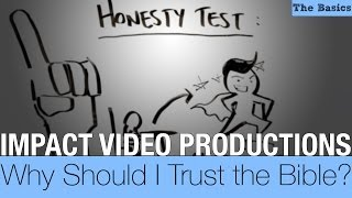 Why Should I Trust the Bible? | IMPACT Whiteboard Video