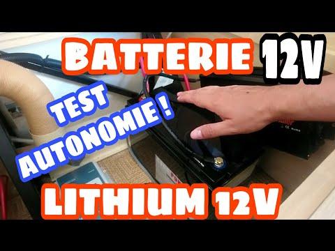 """BATTERIE LITHIUM⚡12v!""""LE TEST REVOLUTIONNAIRE!!"""""""