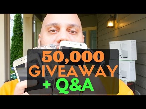 50,000 Subscribers! Q&A + Monster SoundStage Giveaway! #AMA (3 Winners!)