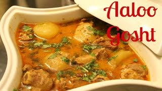Aloo Gosht | Potato and Meat Curry Desi Style by morEwish