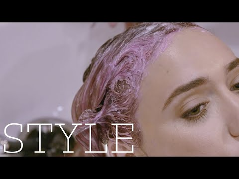 WHAT'S IT LIKE TO HAVE PINK HAIR? | We Tried It | The Sunday Times Style
