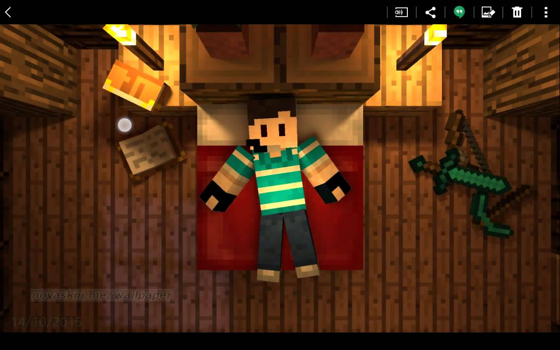 Como Hacer Tu Propio Wallpaper De Minecraft Facil Y Rapido Android