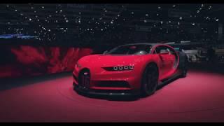Bugatti at Geneva International Motor Show 2018 – World Premiere of the Chiron Sport