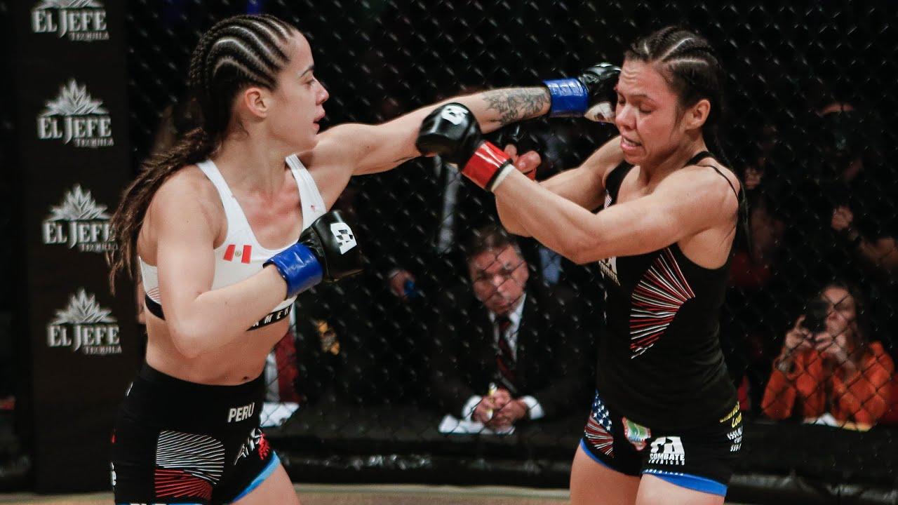 Corina Herrera vs Maria Buzaglo Full Fight | MMA | Copa Combate 2018