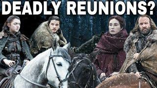 Arya Stark's Biggest Reunions This Season! - Game of Thrones Season 7