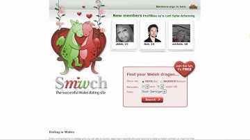 Dating in Wales
