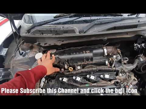 Cleaning  Air filter of Dzire Petrol in Hindi