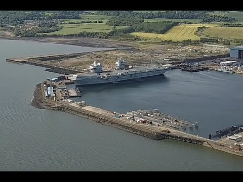 HMS Queen Elizabeth & HMS Prince of Wales & The Forth Crossing 18/6/2017