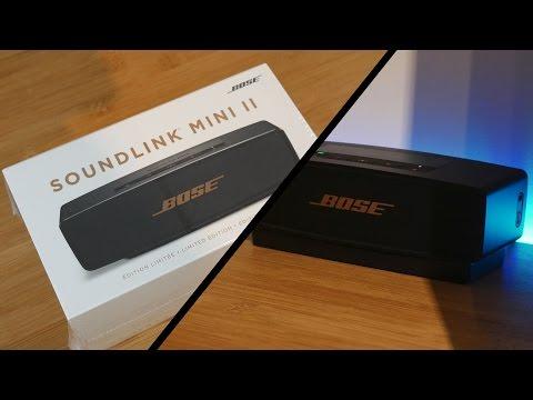 Bose SoundLink Mini II Limited Edition-Unboxing-Ruben Orfeo 4K - YouTube 212d26512d6e7