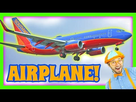 Thumbnail: Airplanes for Kids - Learn Colors with Blippi