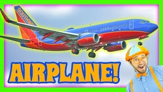 Airplanes for Kids - Learn Colors with Blippi