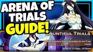 ALBEDO ARENA OF TRIALS GUIDE!!! [AFK ARENA]