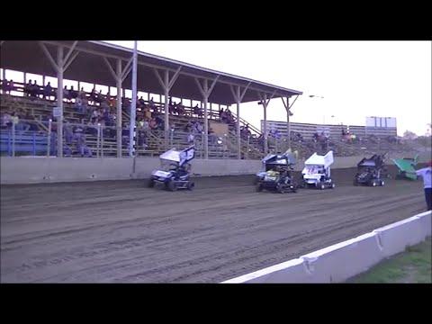 BOSS Micro Sprint Heat Races | Belle-Clair Speedway | 4.17.15