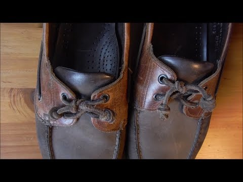 How To Tie Boat Shoes