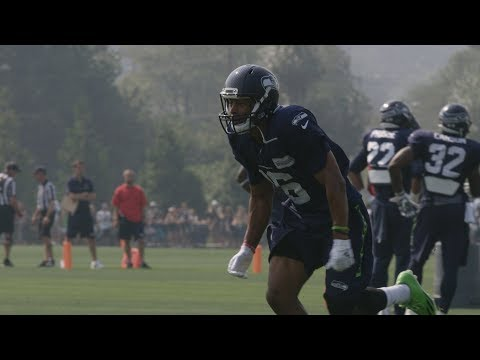 Seahawks Wide Receiver Tyler Lockett Practices for the First Time Since Leg Injury