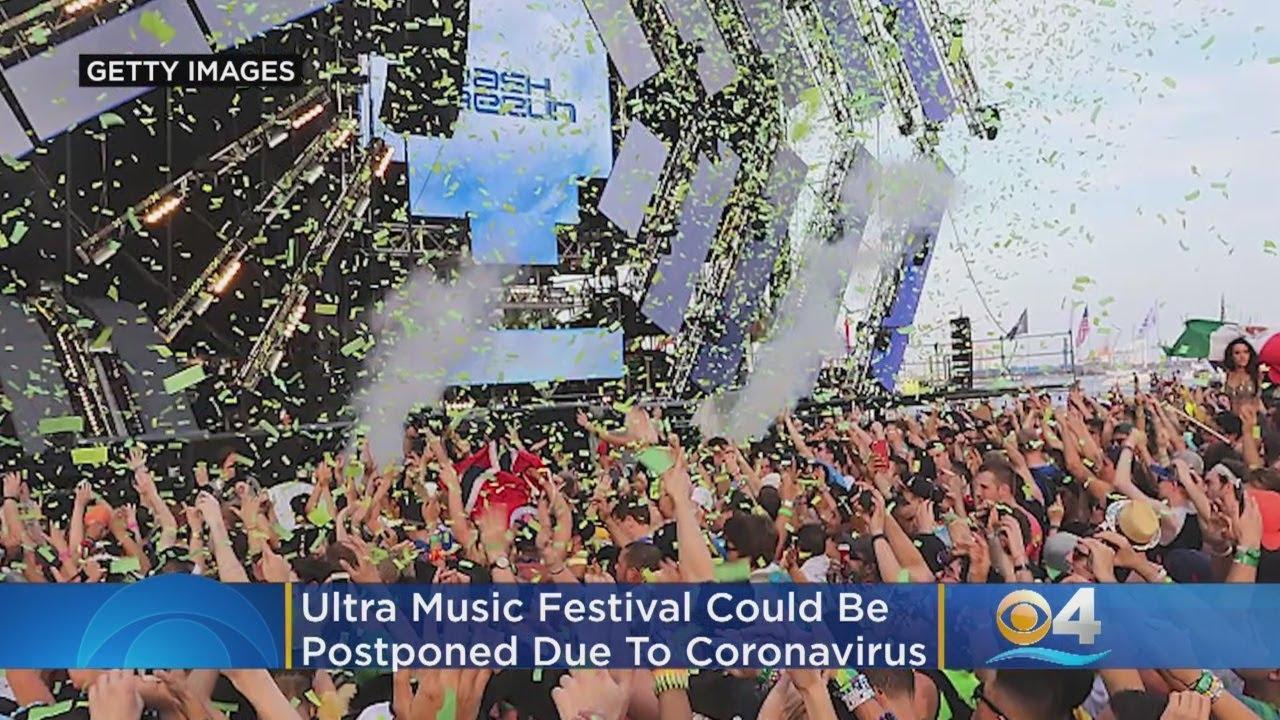 Ultra Music Festival Postponed Amid Coronavirus Concerns