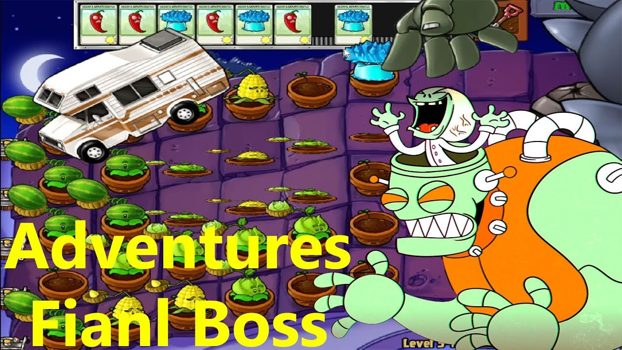 Plants vs Zombies Adventures Final Boss - YouTube