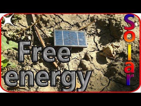 Free energy solar power radio diy