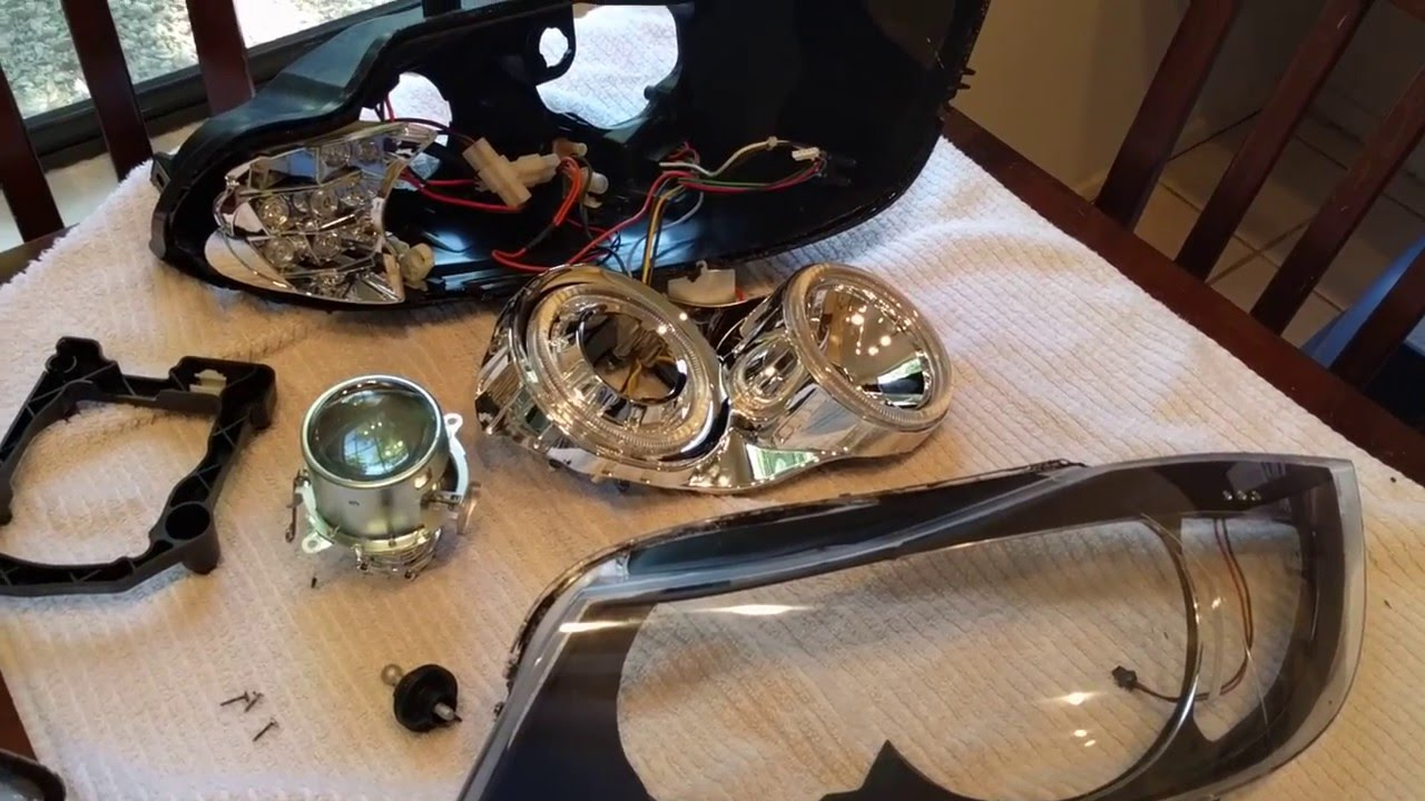 Bmw E90 Depo P90 V2 Pre Lci Headlight Disassembly Youtube